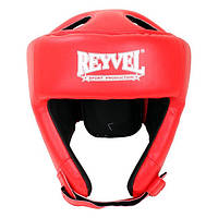 Шлем боксерский Reyvel винил красный М
