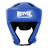 Шлем боксерский Reyvel винил синий М