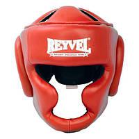 Шлем тренировочный Reyvel винил красный М