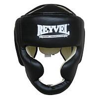 Шлем тренировочный Reyvel винил М черный