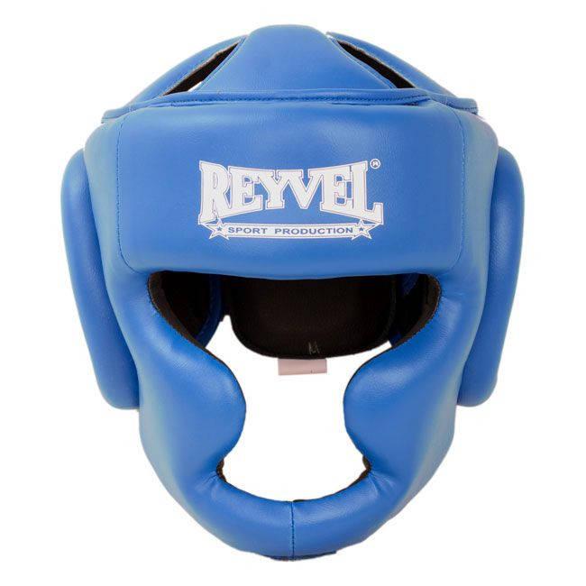 Шлем тренировочный Reyvel винил XL синий