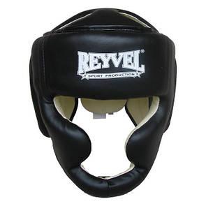 Шлем тренировочный Reyvel винил XL черный