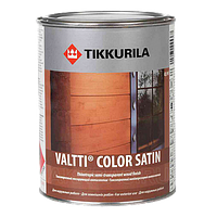 Валтти колор Сатин VALTTI COLOR SATIN антисептик для дерева с сатиновым блеском 0,9 л 0.9