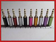 Штекер аудио 3,5 мм 4 pin Senheiser jack 3.5 mm