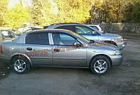 Дефлекторы окон (ветровики) COBRA-Tuning на CHEVROLET VIVA 2004-2008