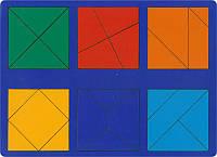 Сложи квадрат Никитина. 2 уровень