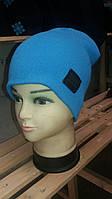 Однотонная  шапка-унисекс  широкий ассортимент