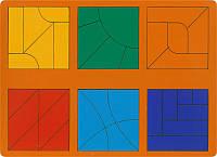 Сложи квадрат Никитина. 3 уровень