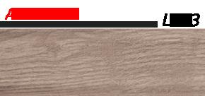 Плинтус напольный 58 мм Lineplast l003 дуб беленый