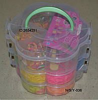 Набор для плетения браслетов из резинок, фото 1