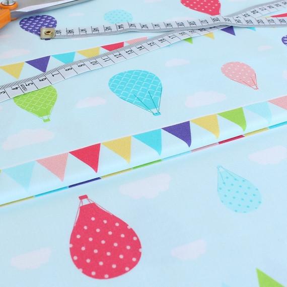 ✁ Отрез ткани Sweet Baloons 50*50 см