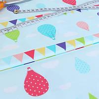 ✁ Отрез ткани Sweet Baloons 50*50 см, фото 1