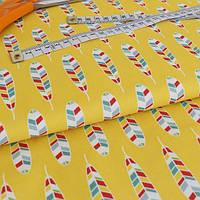 ✁ Отрез ткани Indian Feather 50*50 см