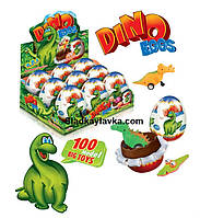 Яйцо шоколадное DINO 115 г 9 шт (ANL)