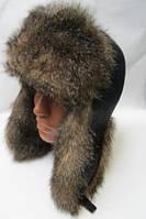 Теплая шапка ушанка мужская