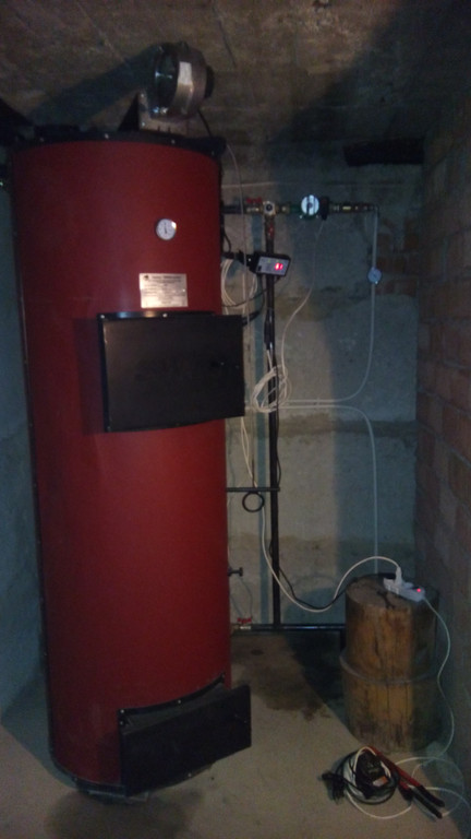 Установка ТП котла в приватному житловому будинку