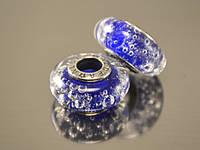 Бусина Атами для браслета Пандора, кобальт, фото 1