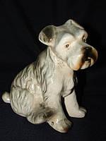 Скульптура Собака,собачка,щенок! Терьер! РЕДКАЯ!