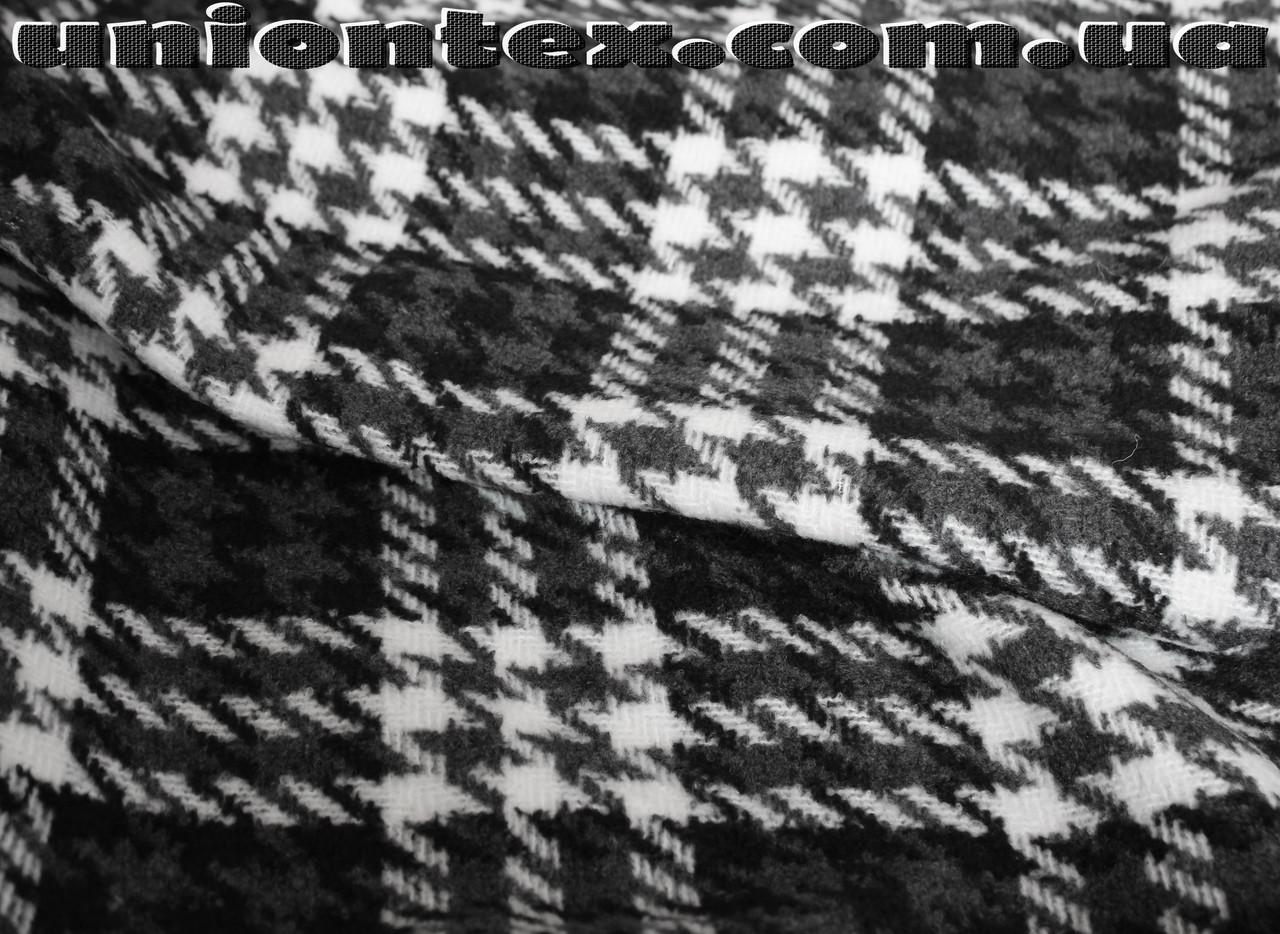 Пальтовая ткань клетка (Турция, 40% шерсть)