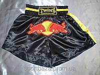Шорты для тайского бокса. ЭЛИТ р-р M, ткань атлас.