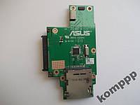 Плата HDD и картридера от Asus K50AF