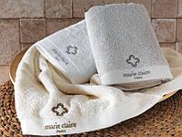 Махровое полотенце  Marie Claire BASIC GRI 50х90  серое