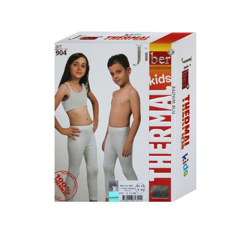 Термокальсоны детские Jiber молочные, детское термобелье