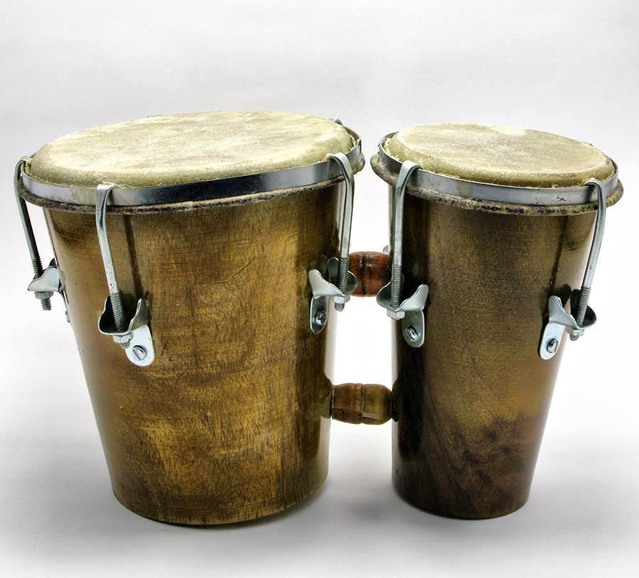 Бабарабан музыкальный двойной
