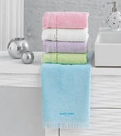 Махровое полотенце  Marie Claire FRANGINE 50х90  аква голубой