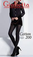 Женские хлопковые колготки Giulietta COTTON 200