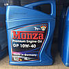 Полусинтетическое моторное масло Mонза(МONZA) GP SAE 10w40 4л