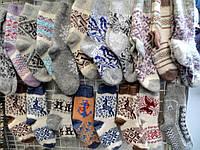 Носки зимние теплые женские из овечьей шерсти