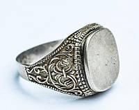 Мужское кольцо - печатка! Серебро,925 проба!