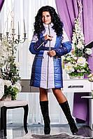 Женский теплый зимний пуховик р. 44-54 арт. 816 Тон 3