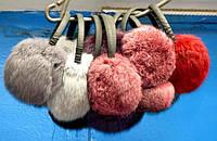 Женские теплые наушники из меха кролика