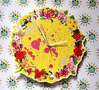 Часы настенные Цветочная пыльца