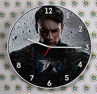 Настенные часы Капитан Америка. Marvel Comics