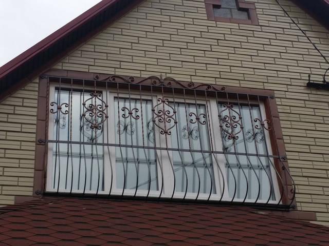 Решетки на окна в Киеве кованые 3