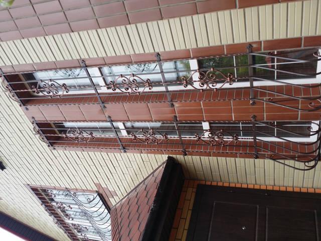 Решетки на окна в Киеве кованые 5