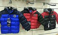 """Куртка зимняя на мальчика NATURE с нашивкой """"3"""""""