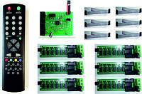 Комплект электроники для табло обмена валют на 4 валюты KSV4-4.