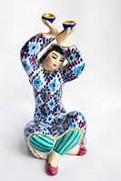 Скульптура Узбечка,танец с пиалами! Киев! РЕДКОСТЬ