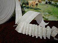 Тесьма для штор (гардин) 40мм хлопковая.