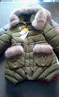 Детская куртка на меху зима, фото 1