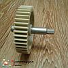 Шестерня с металлическим валом для мясорубки Elekta Ø78мм 44 зуба