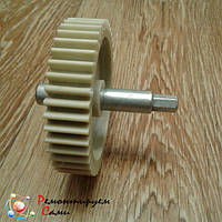 Шестерня с металлическим валом для мясорубки Elekta Ø78мм 44 зуба, фото 1