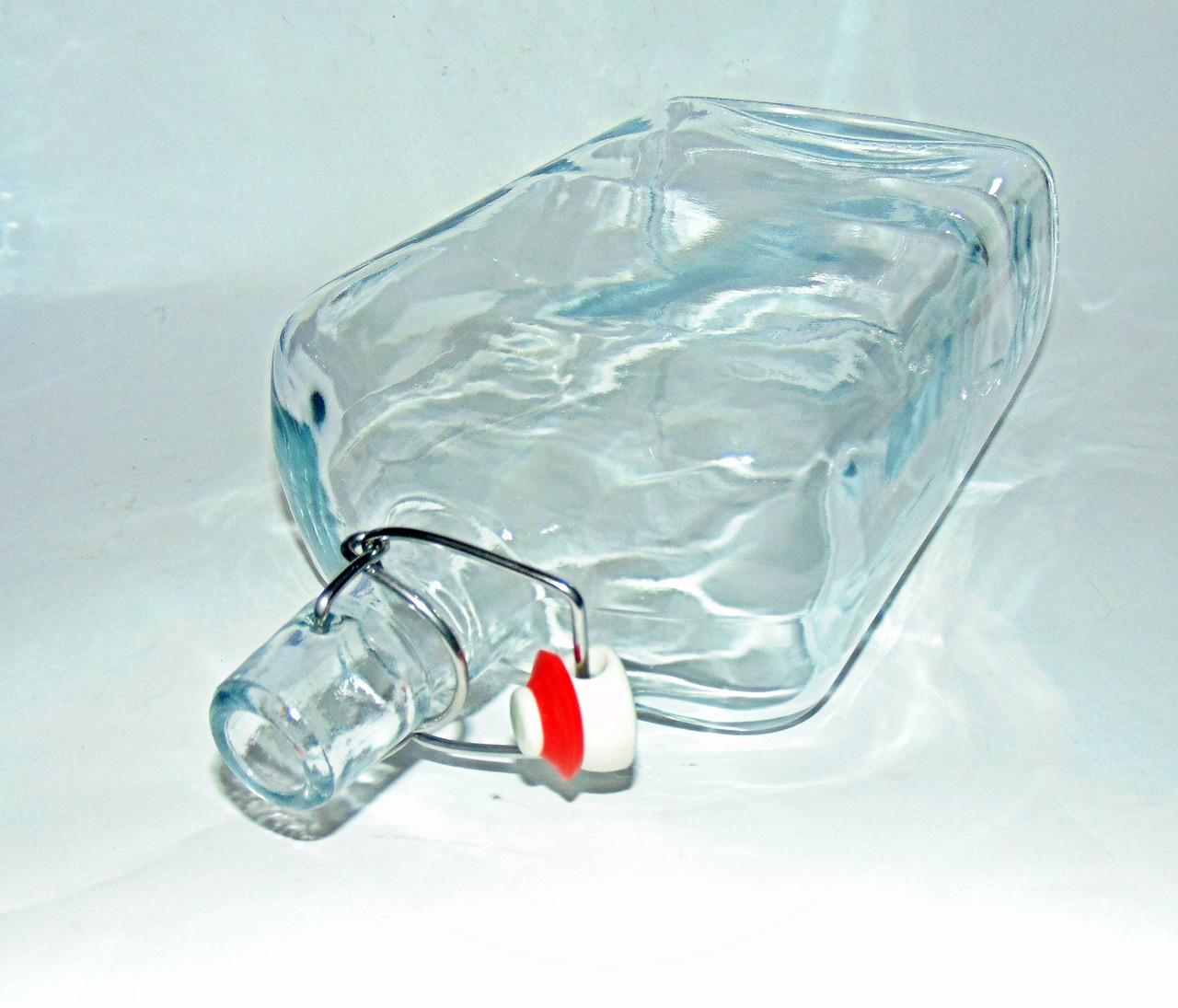 """Пляшка з бугельної пробкою 0,75 прозора """"Вікінг"""""""