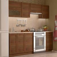 Кухонный комплект мебели 1,4 метра из 4 частей, ольха (кухонный модульный гарнитур)