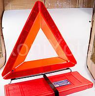 Знак аварийный в пластиковой упаковке усиленный EURO Vitol