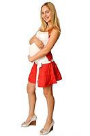 Распродажа!!! Льняная юбка для беременных, р. 48
